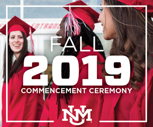 Learn more about the fall commencement 2019