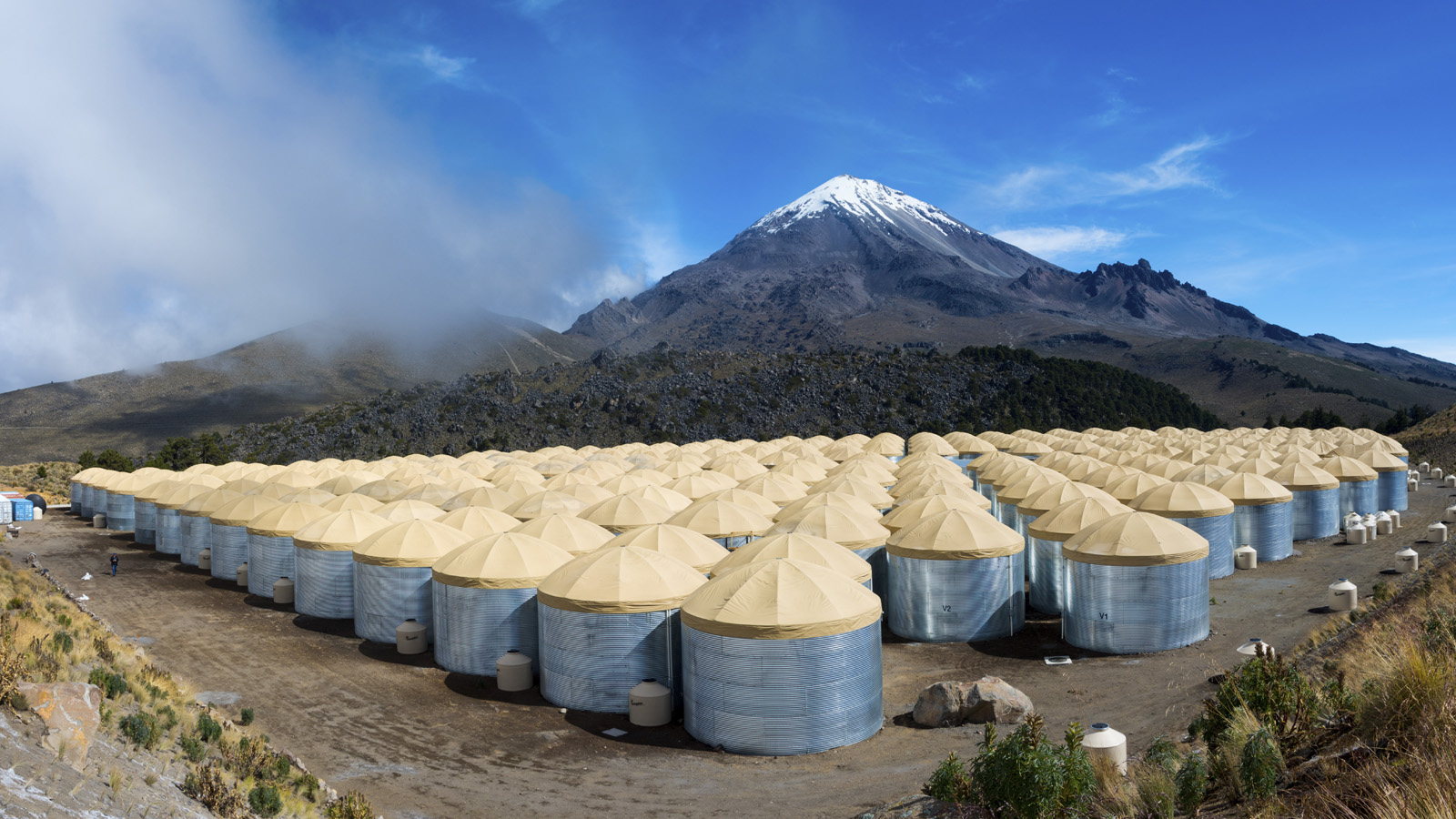 High-altitude observatory sheds light on origin of excess anti-matter