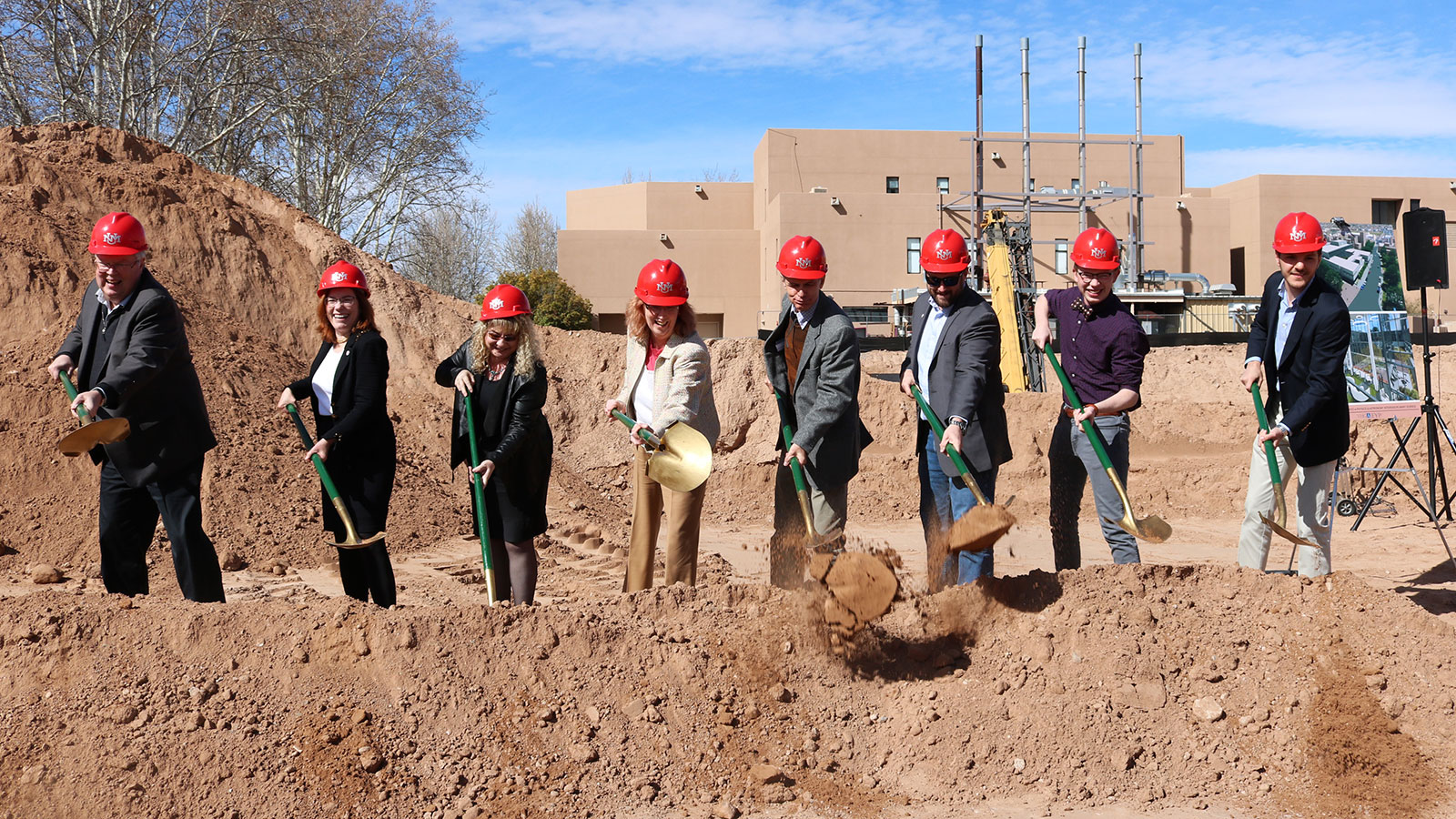 PAIS construction officially begins with groundbreaking