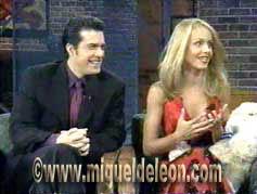 Miguel de León - Entrevista - Programa de Televisión - Cristina