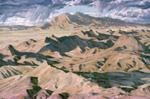 Badlands near Ladron Peak oil by Jeff Potter  <p>