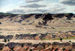 Cabezon View from the East oil by Jeff Potter AVAILABLE