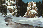 Winter Serenity pastel by Jeff Potter   SOLD
