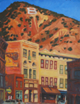 Bisbee, AZ Afternoon oil painting by Jeff Potter AVAILABLE