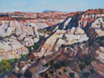Boulder Canyon Shadows plein air oil by Jeff Potter AVAILABLE