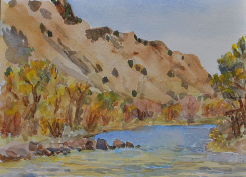 Click om image to visit my watercolor Paintings page
