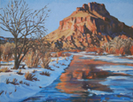 Winster Solstice, Chama River oil by Jeff Potter SOLD