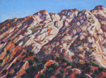 Escalante Sandstone Patterns pastel by Jeff Potter SOLD