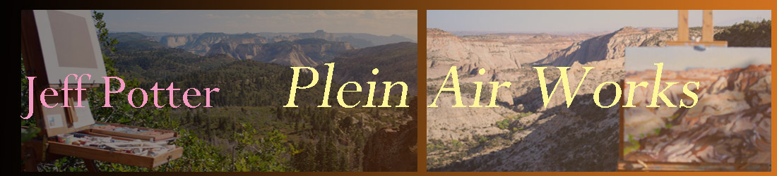 Welcome to Jeff Potter's Plein Air page