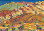 Waterpocket Fold Hillside oil painting by Jeff Potter AVAILABLE