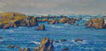 MacKerricher Cove Swells pastel by Jeff Potter AVAILABLE