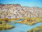San Juan River in Autumn oil by Jeff Potter AVAILABLE