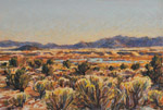 Winter Morning at Sevilleta - pastel by Jeff Potter