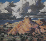 Slickrock View near Boulder,UT pastel by Jeff Potter AVAILABLE