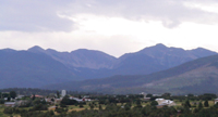 Truchas, NM in the Sangre de Cristo mountains