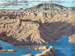 Navajo Mountain and Lake Powell oil by Jeff Potter AVAILABLE