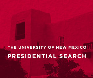 The University of New Mexico Presidential Search