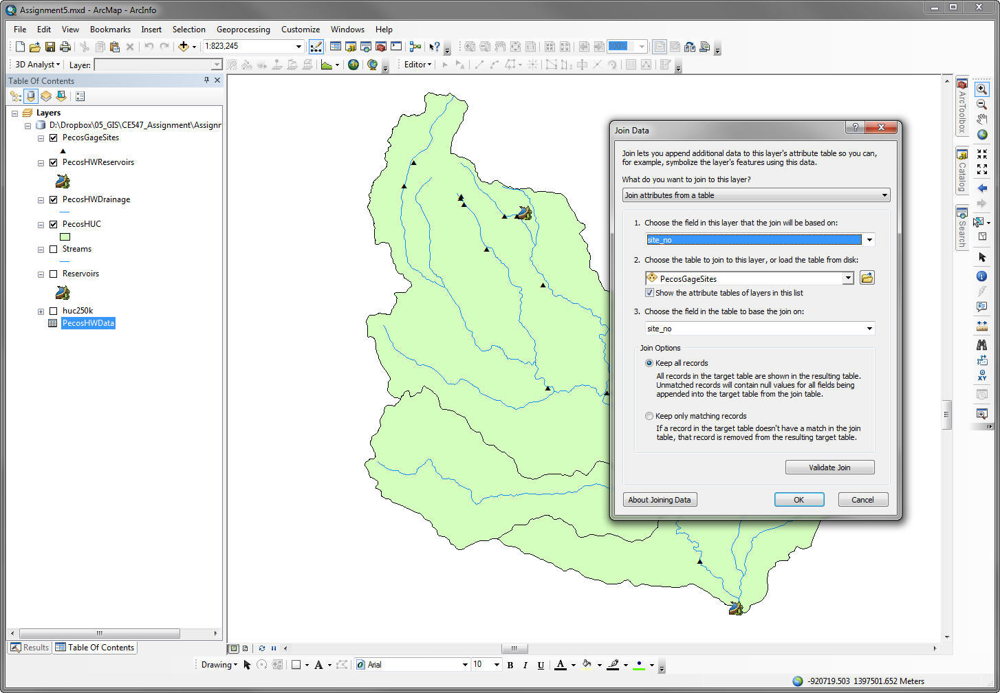 CE547 - GIS in Water Resources Engineering