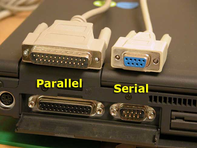 Serial and Parallel Interfaces